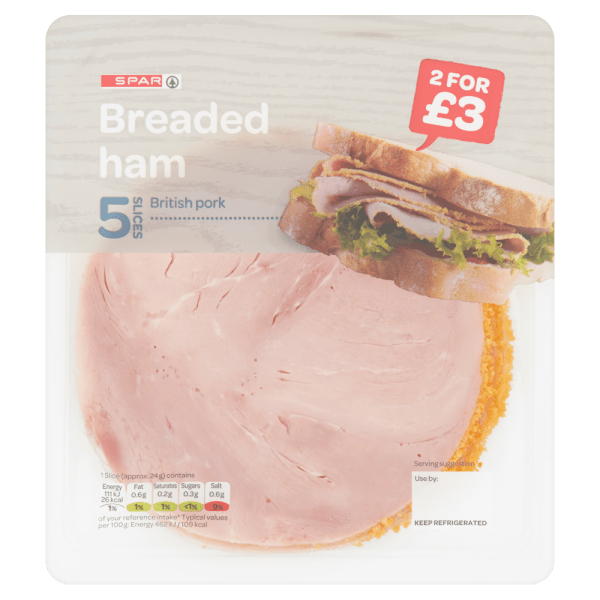 Cannich Stores : Spar Breaded Ham