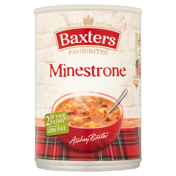 Baxters Favourites Minestrone 400g