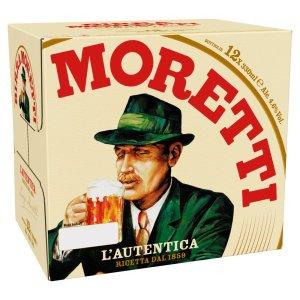 Birra Moretti 12pk