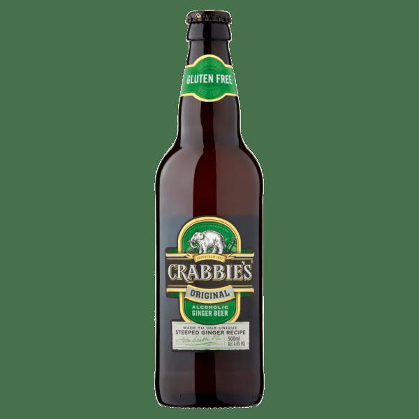 Crabbies Original Alcoholic Ginger Beer 500ml