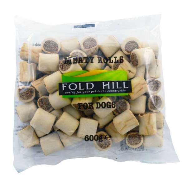 Dog Treats 600g - Meaty Rolls