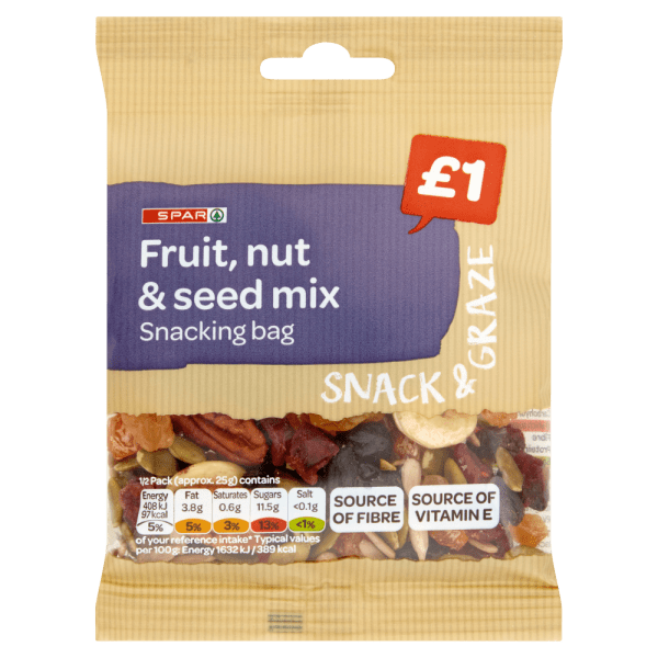 Spar Fruit Nut & Seed Mix 50g