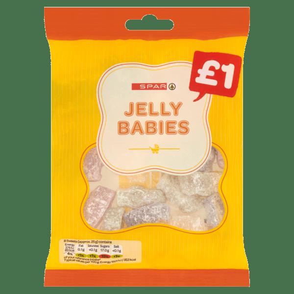 Spar Jelly Babies 180g