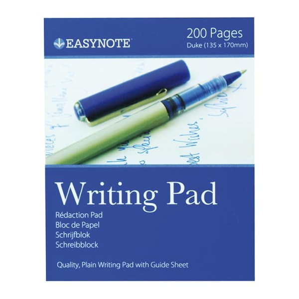 Writing pad lined 100 sht