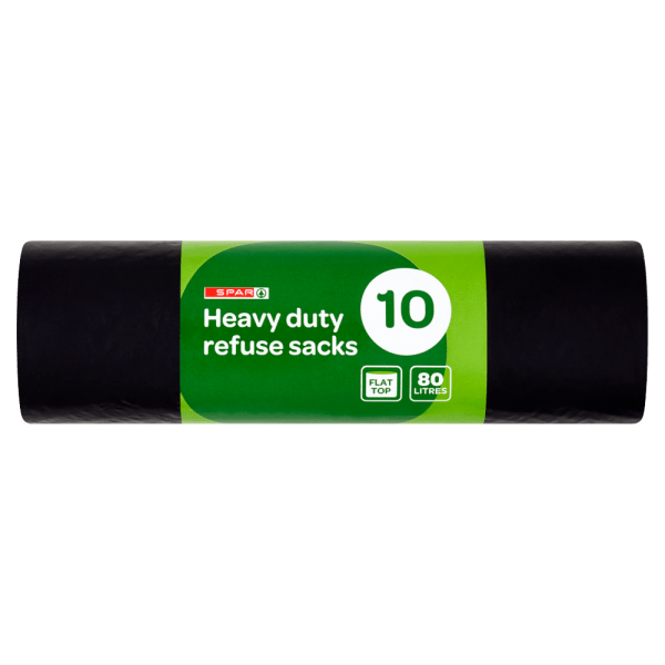 Cannich Stores : Heavy Duty Refuse Sacks 80 Litres