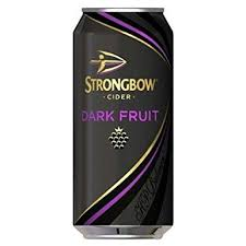 Strongbow Dark Fruit Cider 440ml can