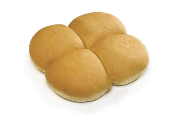 Cannich Stores : Large White Baps x4
