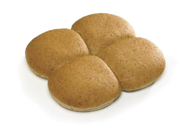 Cannich Stores : Large Wholemeal Baps x4