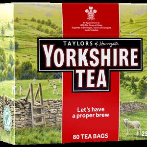 Cannich Stores : Yorkshire Tea 80s