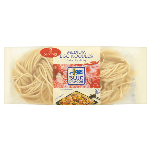 Blue Dragon Medium Egg Noodles 100g