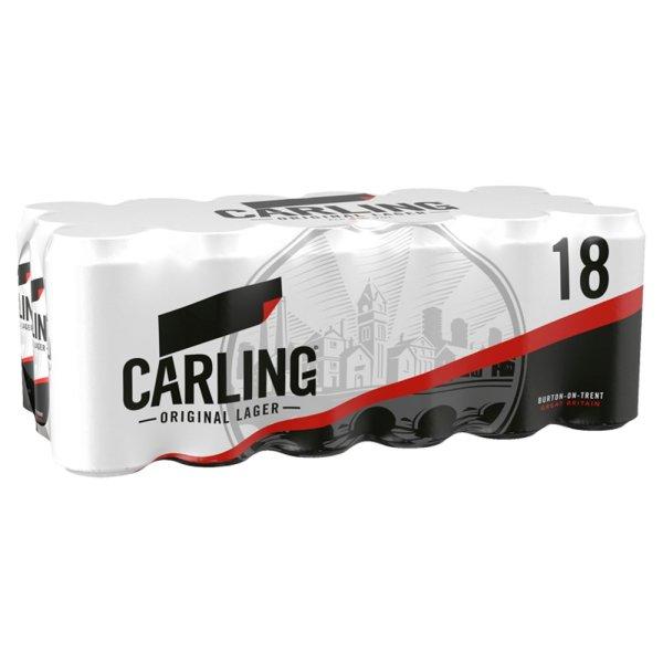 Carling 18 pack 440ml