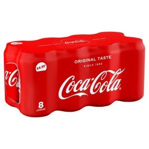 Coca Cola Classic 8pk £4.35