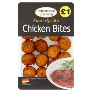 Delicatessen Fine Eating Chicken Bites 200g