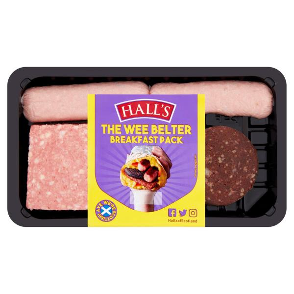 Halls Mini Breakfast Pack