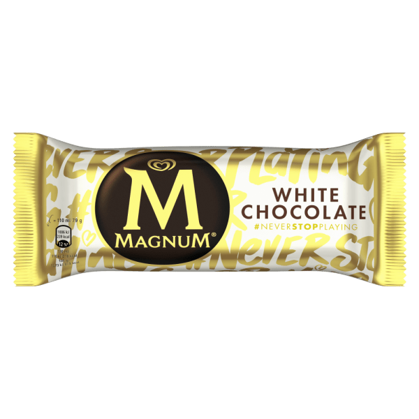 Magnum White Chocolate Ice Cream 110ml