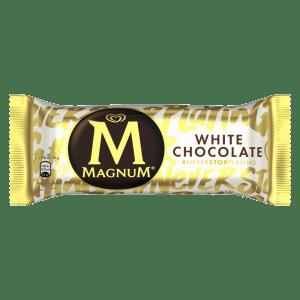 Magnum White Chocolate Ice Cream 110ml