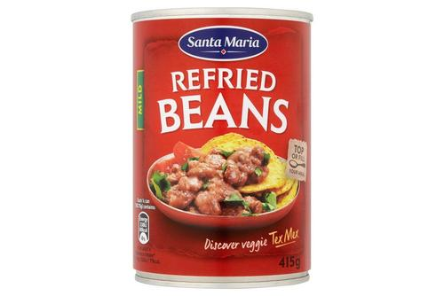 Santa Maria Refried Beans Mild 415g