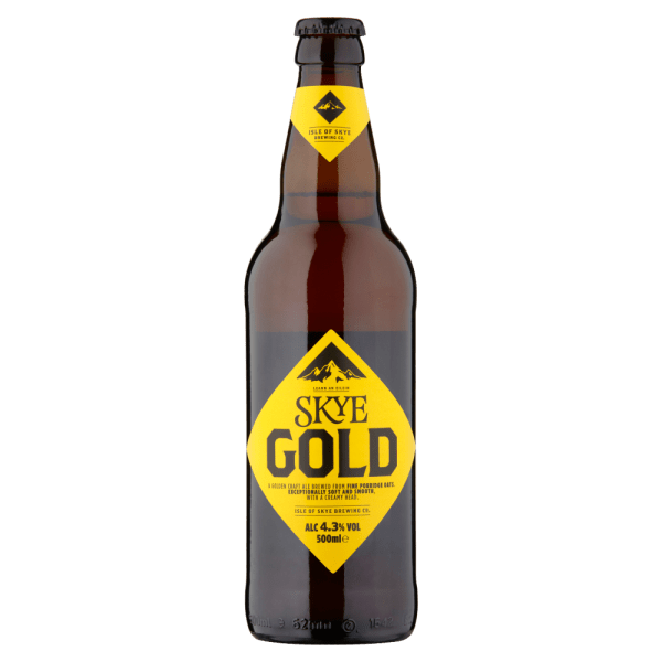Skye Gold Premium Craft Ale 500ml