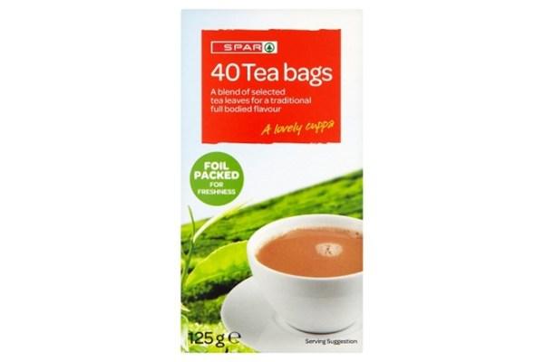 Spar 40 Teabags