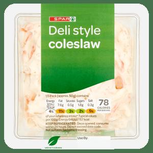 Spar Deli Style Coleslaw 250g