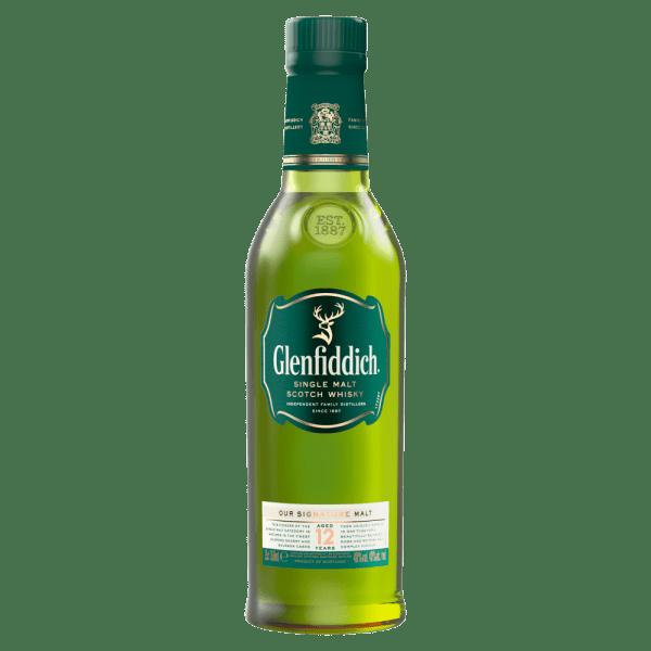 Glenfiddich 12 Year Old Single Malt Scotch Whisky 35cl