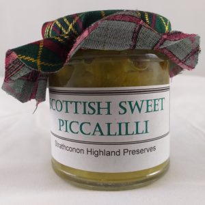 Strathconon Highland Preserves : Scottish Sweet Piccalilli