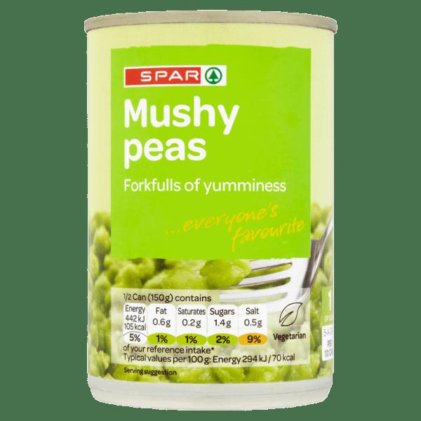 Spar Mushy Peas 300g