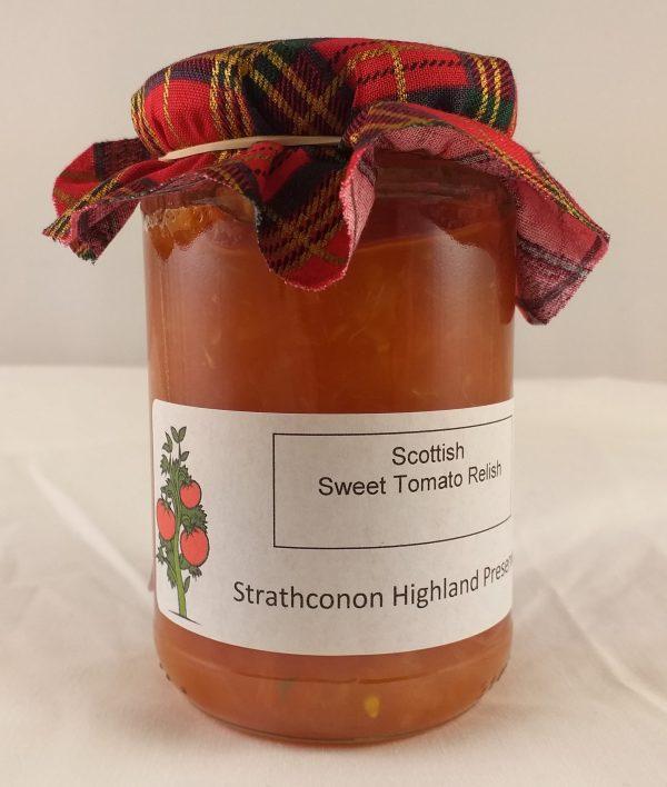 Strathconon Highland Preserves : Sweet Tomato Relish