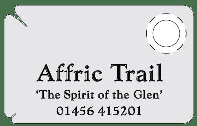 Affric Trail Tick Card