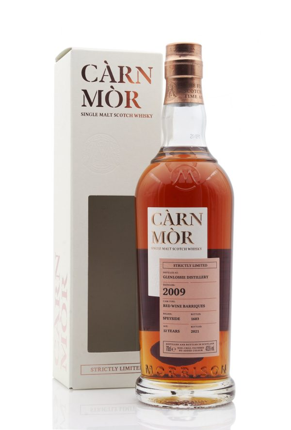 Carn Mor - Glenlossie 12 Year Old 2009 (Strictly Limited)