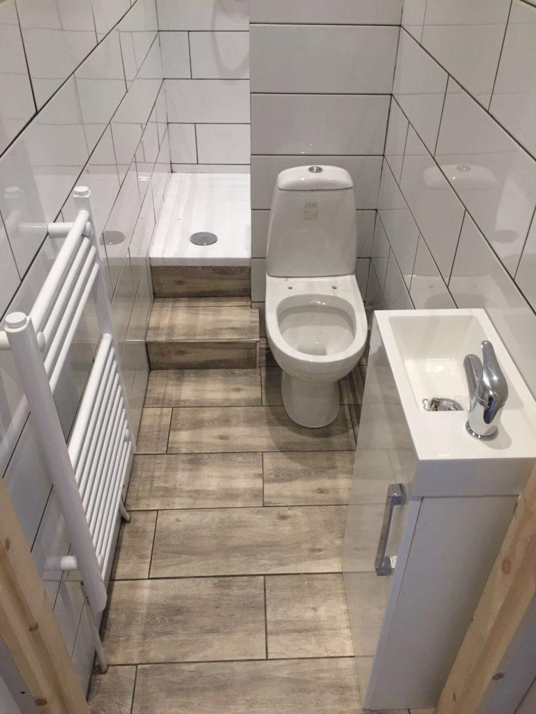 Cannock Bathrooms Small Ensuite Installation  Cannock