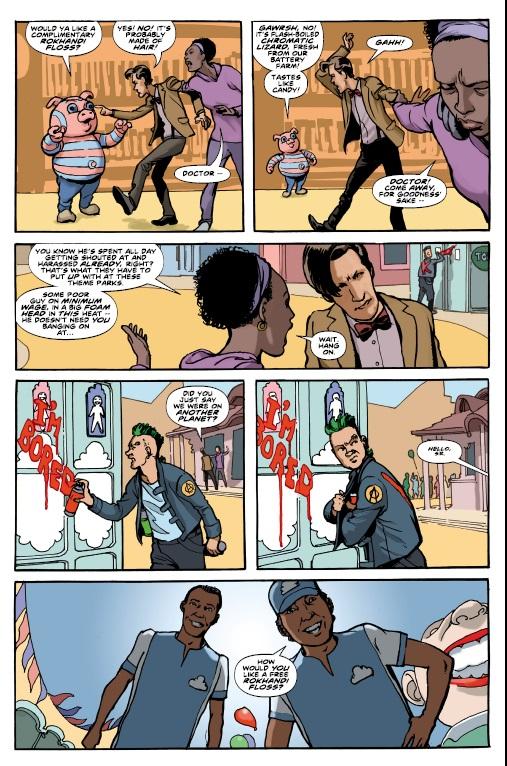 Adult Comic Series