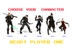ready characters