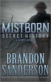 A surprise book published without any fanfare whatsoever, because Brandon Sanderson is the Beyoncé of epic fantasy.