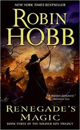 I never thought I'd say this about a Robin Hobb book, but…