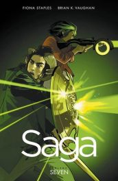 My least favorite Saga installments are the ones where things get tough.