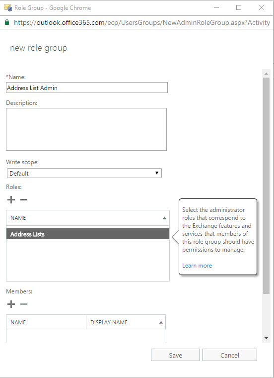 Manually Update GAL in O365 or Exchange16