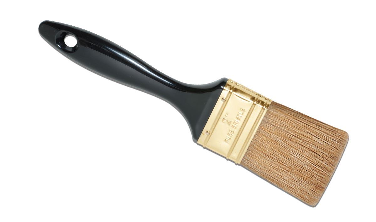 Paletina cuádruple negra ronda pintar brocha profesional