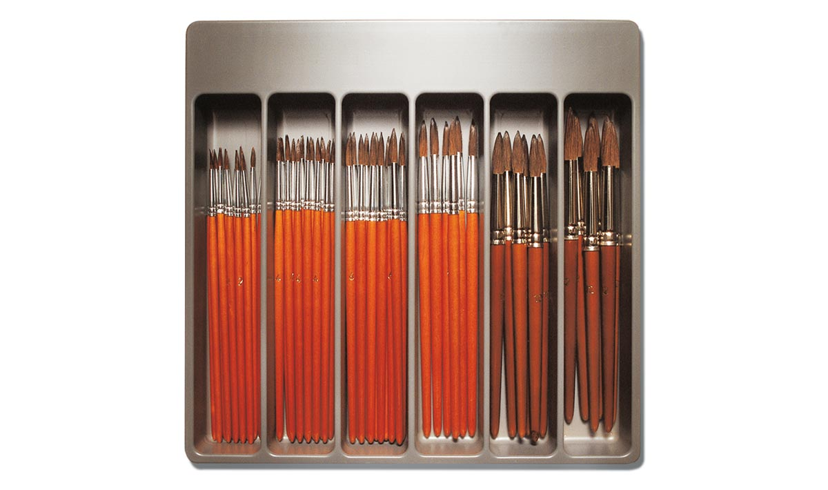 Caja 54 pinceles acuarela artista pintura manualidades