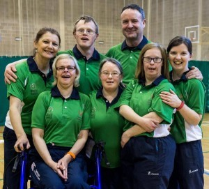 Irish Kayak Special Olympics Team 2015