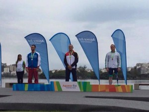 Pat O'Leary Paraolympics Bronze Rio Test