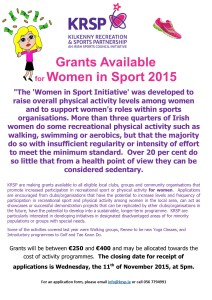 2015 Poster Women in sport