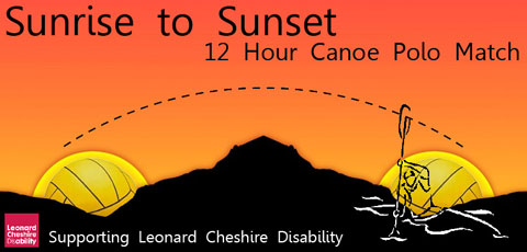 Sunrise to Sunset Canoe Polo logo
