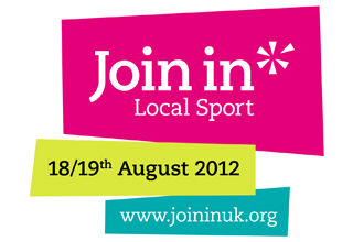 Join in Local Sport logo