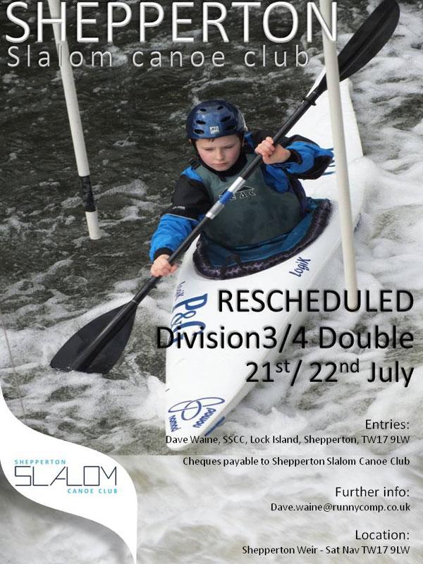 Shepperton Slalom poster