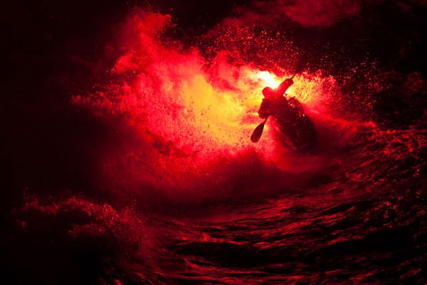 Shape shifter kayaker