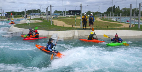 Kayaks at Lee Valley Legacy Course