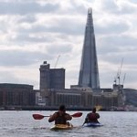 Thames kayak leader training