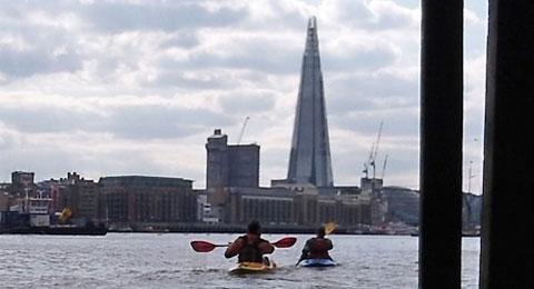 Thames kayaks in London