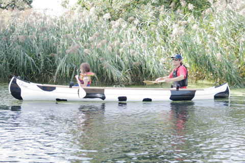 Moo canoes - canoe and kayak hire and tours in London